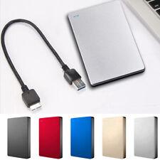Portable USB 3.0 500GB 1TB 2TB External Hard Drive Disk HDD 2.5'' For PC Laptop