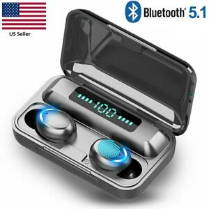 Bluetooth Earbuds for iPhone Samsung Android Wireless Earphone Waterproof F9-32
