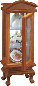 Half Scale Glass Cabinet by Reutter Porcelain - Dollhouse Miniature