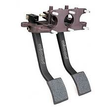 Wilwood 2 Pedal 5.5:1 Ratio Swing Mount Pedal Box (Rear Facing) - Brake/Clutch