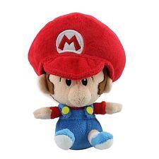 "Super Mario Bros Plush Toy Baby Mario 5"" Cuddly Nintendo Stuffed Animal Doll"
