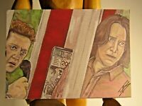 Bill and Ted Face the Music  ACEO Print Card Pop Culture Artist Phil Born