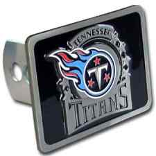 TENNESSEE TITANS NFL Class II/III Pewter Trailer Hitch Cover