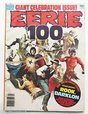Eerie #100 March 1979 WARREN Magazine Fine 1970s Vintage Horror Comics