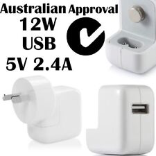 12W USB AC Wall Charger Adapter For Apple iPhone X 6S Samsung Tab Sony HTC 2.4A