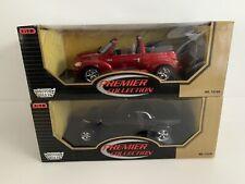 Chrysler Howler Black And PT Cruiser Red 1:18 Motor Max Boxed