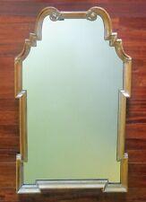"Vintage La Barge Maple Finish Wood Framed Wall Mirror 41""x 25"""