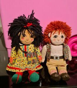 Ragdoll Rosie And Jim Soft Toys 28cm tall