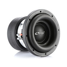 CT Sounds Meso 8 Inch Car Subwoofer 1600 Watts MAX Dual 2 Ohm Audio D2 Sub