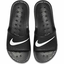 Men's Nike Kawa Shower Flip Flops Beach Sandals Sliders Black