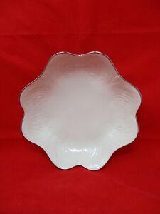 Vintage Lenox China Silver Trim Nut Bowl/ Candy Dish
