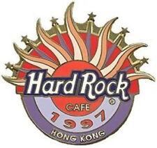 Hard Rock Cafe HONG KONG 1997 Unification #1 PIN #3 of 4 Rising Sun - HRC #10680