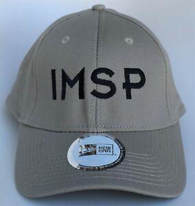 IMSP Baseball Cap Hat One Size Strapback 100% Cotton by New Era