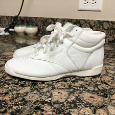 Vintage Womens Pro Wings Classics White High Top Sneakers Shoes 80s 90s Size 5.5