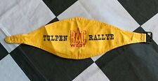 ORIGINAL 1960's INTERNATIONAL TULPEN TULIP RALLY RALLYE RAC WEST ARMBAND PASS