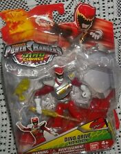 SABAN'S POWER RANGERS DINO CHARGE DINO DRIVE RED RANGER  42211  NIB GIFT