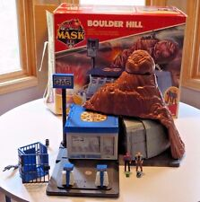 1985 MASK M.A.S.K. Kenner Boulder Hill Near Complete w Box - Rare!