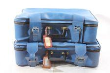 2x alter Koffer Reisekoffer blau Kult retro Design KONVOLUT