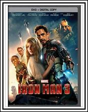 IRON MAN 3 (DVD, 2013)