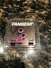 Tangent Chainring Bolts Purple
