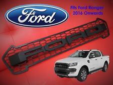 Ford Ranger Pickup 2016 + T6 Facelift Front Raptor Grille Wildtrak MATTE BLACK