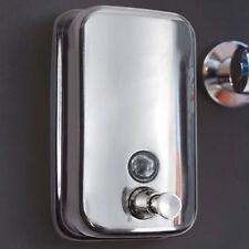 Dispenser Liquido Sapone Erogatore Muro Automatico 500 ml Bagno Parete Acciaio
