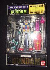 Bandai Yellow RX78 (RX-78) Gundam Version 1 Action Figure MSIA Lot