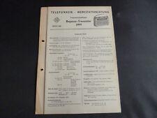 ORIGINALI service manual TELEFUNKEN BAJAZZO transistor 3991