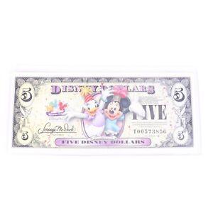 Disney Dollars Daisy Duck Minnie Mouse Celebrate You Five Dollar Bill T00573856