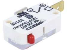 BVM3FULS Microswitch SNAP ACTION; without lever; SPST-NC; 10A/250VAC