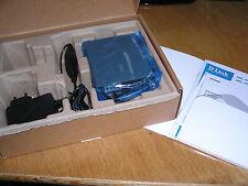 NEW - D-Link DMC-810SC Media Converter 1000LX to 1000Base-T Single Mode open box