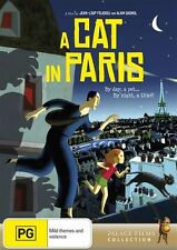 A Cat in Paris DVD R4 NEW