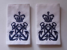 MATCHED PAIR OF ROYAL NAVY PETTY OFFICER RANK SLIDES