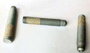 10-pack of 1541 Steel M12 x 1.75 x 70mm Threaded Studs