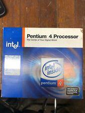 BRAND NEW IN BOX Intel Pentium 4 Socket 478 Original CPU Heatsink and Fan TESTED