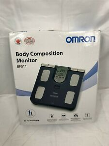 OMRON BF511 Clinically Validated Full Body Composition Monitor - Blue