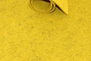 Filzplatte 30x50cm, 100% Merino-Wollfilz, curry-meliert, 2-3mm,