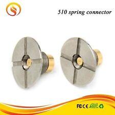 510 Connector Self-adjusting Center Pin 22mm SS 1mm Low Profile Box Mod 2 pcs