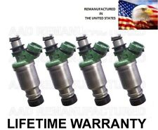 Denso Set of 4 Fuel Injectors For Toyota Camry Celica MR2 2.2 Federal Emission