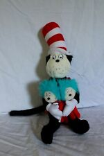 Universal Studios Plush Stuffed Dr. Seuss Cat in the Hat w/Things 1 & 2