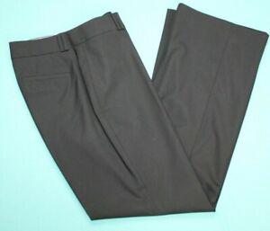 BANANA REPUBLIC Womens Jackson Curvy Fit Dress Pants Size 10 Black EUC #16652