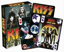 Retro KISS  - PHOTOS & CLASSIC IMAGES  Playing Cards Licensed Product AQUARIUS
