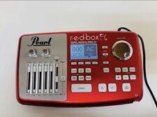Pearl r.e.d.box RBM-20 Redbox Real Electronic Drum Module W/Power Supply **READ