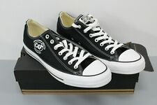 """Converse All Stars Black Low Top Sneakers Stamped """"CAF"""" Unisex Men's Size 11"""
