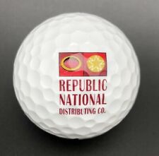 Republic National Distributing Co Logo Golf Ball (1) Nike Crush PreOwned