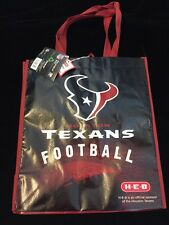 HEB Houston Texans Shopping Tote Gift Bag Texas NFL Football Longhorn Flag