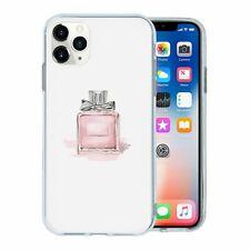 Para Apple IPHONE 11 Pro Max Funda de Silicona Perfume Rosa Diseño - S1247