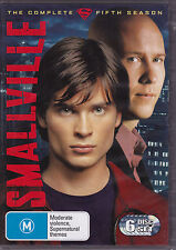 Smallville - The Complete Fifth Season - DVD (Region 4 Brand New Sealed)