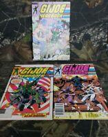 Vtg Marvel GI Joe Yearbook Comic Lot #'s 2,3,4