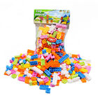 144pcs Plastic Building Blocks Bricks Children Kids Educational Puzzle Toy Gift